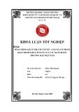 Khóa luận tốt nghiệp: Hoạt động quản trị tài sản nợ - tài sản có nhằm hạn chế rủi ro lãi suất của các Ngân hàng thương mại Việt Nam