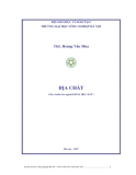 Giáo trình Địa chất: Phần I - ThS. Hoàng Văn Mùa