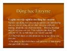 Bài giảng Công nghệ protein – enzyme: Chương 4
