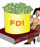 Luận án Tiến sĩ Kinh tế: Đầu tư trực tiếp nước ngoài (FDI) với việc chuyển dịch cơ cấu kinh tế của tỉnh Thái Nguyên