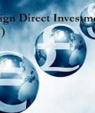 Luận án Tiến sĩ Kinh tế: Những vấn đề kinh tế xã hội nảy sinh trong đầu tư trực tiếp nước ngoài của một số nước Châu Á và giải pháp cho Việt Nam