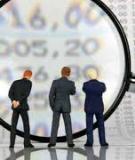 Luận án Tiến sĩ Kinh tế: Tăng cường hoạt động giám sát của Quốc hội đối với các tập đoàn kinh tế nhà nước