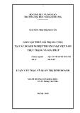 Luận văn thạc sỹ quản trị kinh doanh: Gian lận thuế giá trị gia tăng tại các doanh nghiệp thương mại Việt Nam thực trạng và giải pháp