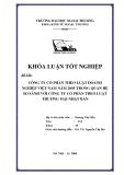 Khóa luận tốt nghiệp: Công ty cổ phần theo luật doanh nghiệp Việt Nam năm 2005 trong quan hệ so sánh với công ty cổ phần theo luật thương mại Nhật Bản