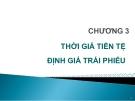 Bài giảng Thị trường chứng khoán: Chương 3 - GV. Nguyễn Thu Hằng
