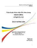 Sách hướng dẫn Thỏa thuận thừa nhận lẫn nhau trong ASEAN (MRA) về nghề Du lịch
