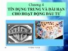 Bài giảng Tín dụng: Chương 4