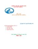 Bài thuyết trình: Các đặc điểm chính của bể UASB