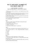90 câu hỏi trắc nghiệm về Dao động điện từ