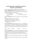75 câu hỏi trắc nghiệm về Mắt và Dụng cụ quang học