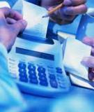 Bài tập lớn: Nêu cách lập báo cáo lưu chuyển tiền tệ dạng trực tiếp về lưu chuyển tiền thuần từ hoạt động kinh doanh