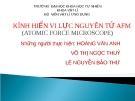 Bài thuyết trình: Kính hiển vi lực nguyên tử AFM