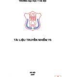 Tài liệu Truyền nhiễm Y5 - ĐH Y Hà Nội