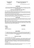 Quyết định 2621/QĐ-UBND năm 2013