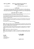 Quyết định 8390/QĐ-BCT năm 2013