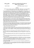 Chỉ thị 03/CT-BXD năm 2013