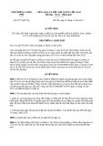 Quyết định 2277/QĐ-TTg năm 2013