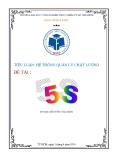 Tiểu luận: Hệ thống quản lý chất lượng 5S