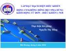 Bài giảng Lắp đặt mạch điện điều khiển động cơ không đồng bộ 3 pha dùng động từ đơn - điều khiển 1 nơi - Nguyễn Thị Hồng