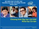 Bài giảng Chương trình Dạy học của Intel: Khóa học cơ bản