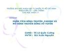 Seminar:  Phân tích kênh truyền, Fading và mô hình truyền sóng vô tuyến