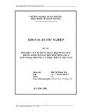Luận văn tốt nghiệp: Tìm hiểu về vấn đề sử dụng hợp đồng mẫu trong đàm phán ký kết hợp đồng mua bán ngoại thương và thực tiễn ở Việt Nam