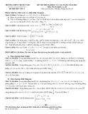 Đề thi thử ĐH, CĐ môn Toán năm 2014 - THPT Chuyên NĐC