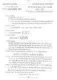Đề thi thử ĐH môn Toán lần 4 năm 2014 - THPT Chuyên ĐHSP Hà Nội