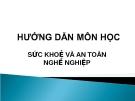 Bài giảng Sức khỏe và an toàn nghề nghiệp: Hướng dẫn môn học - ThS. Nguyễn Thúy Quỳnh