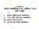Bài giảng Quản trị học: Chương 3 - TS. Phan Thị Minh Châu
