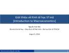 Bài giảng Kinh tế vĩ mô: Chương 1 - Nguyễn Hoài Bảo