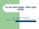 Bài giảng Sức khỏe và an toàn nghề nghiệp: Bài 2 - ThS. Nguyễn Thúy Quỳnh