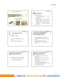 Bài giảng Công nghệ sinh học thực phẩm: Chương 1 - GV. Nguyễn Quang