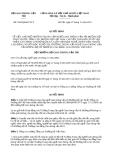 Quyết định 3559/QĐ-BGTVT năm 2013