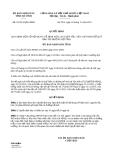 Quyết định 52/2013/QĐ-UBND tỉnh Hà Tĩnh