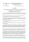 Quyết định 3914/QĐ-BGTVT năm 2013
