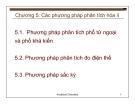 Bài giảng Cơ sở hóa phân tích môi trường: Chương 5
