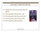 Bài giảng Cơ sở hóa phân tích môi trường: Chương 3