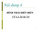 Bài giảng Kinh tế học tiền tệ - ngân hàng: Nội dung 4 -  TS Nguyễn Thị Thư
