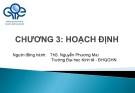 Bài giảng Quản trị học: Chương 3 - ThS. Nguyễn Phương Mai