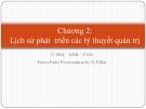 Bài giảng Quản trị học: Chương 2 - ThS. Nguyễn Phương Mai