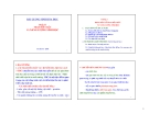 Bài giảng Sinh hóa học (Phần II: Trao đổi chất và năng lượng sinh học): Chương I