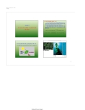 Bài giảng Chương 4: Sự quang hợp và hô hấp của tế bào