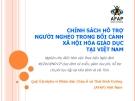 Nghiên cứu Chính sách hỗ trợ người nghèo trong bối cảnh xã hội hóa giáo dục tại Việt Nam - AFAP
