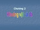 Bài giảng Địa chất học: Chương 2 - Nguyễn Thị Mây