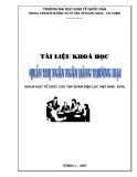 Bài giảng Quản trị ngân hàng thương mại: Chuyên đề 3 - ĐH Kinh tế Quốc dân