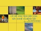 Bài giảng Sức khỏe môi trường: Chương 4 - ThS. Trần Thị Tuyết Hạnh