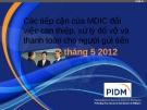 Bài giảng Các tiếp cận của MDIC đối việc can thiệp, xử lý đổ vỡ và thanh toán cho người gửi tiền