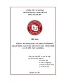Tiểu luận: Sử dụng hợp đồng tương lai phòng ngừa rủi ro cho sản phẩm cao su của công ty cổ phần công nghiệp cao su miền Nam Caosumina