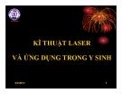 Bài giảng Kỹ thuật laser và ứng dụng trong y sinh